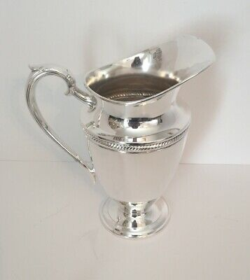 Castleton Water Pitcher Silverplate International Silver Co. 4817