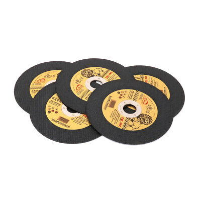 "4"" Resin Cutting Disc Metal Stainless Steel Cut Off Wheel for Angle Grinder 5Pcs"