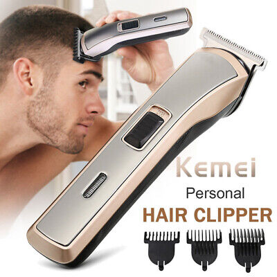 Men's Rechargeable Electric Cordless Hair Cutter Beard Clippers Trimmer Shaver