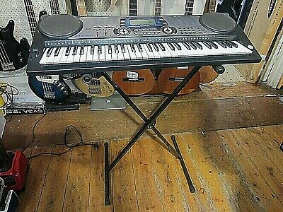 CASIO CTK-651 KEYBOARD w STAND AND POWER ADAPTOR ~ EXCELLENT CONDITON
