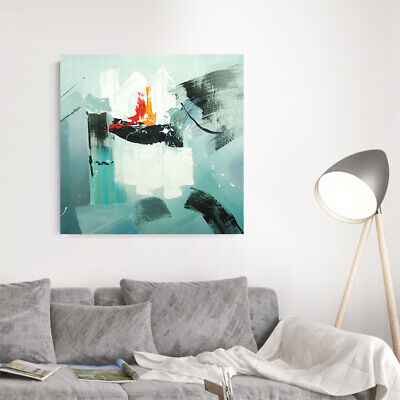 Modern Abstract Hand Painted Oil Painting Home Decor Wall Art Canvas Framed