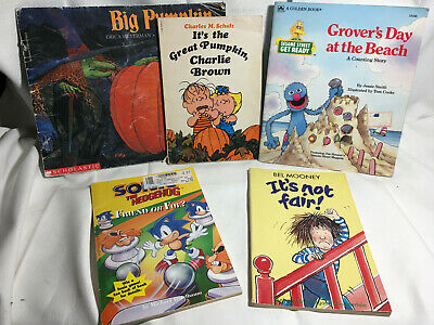 It's The Great Pumpkin Charlie Brown + Big Pumpkin, Grover's Day at the Beach +2