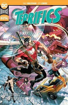The Terrifics Volume 2 Tom Strong and the Terrifics by Jeff Lemire 9781401291488