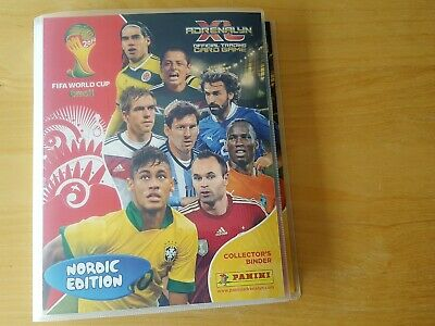 Panini WORLD CUP 2014 Adrenalyn XL. Complete NORDIC Binder (all 426 cards) No LE