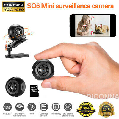 1080P HD Mini IP Security IP Camera Wireless Wifii Home DVR Night Vision