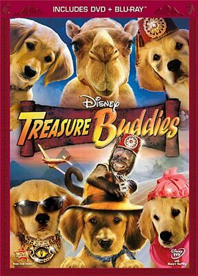 Treasure Buddies (Blu-ray/DVD, 2012, 2-Disc Set, DVD/Blu-ray Combo) Disney  NEW