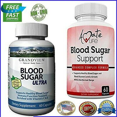 Blood Sugar Ultra and Support Supplement -Natural Glucose Control,60 Capsules
