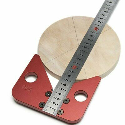 Round Heart Ruler 45 Degree Angle Round Center Line Scribe Wood Center Scribe DD