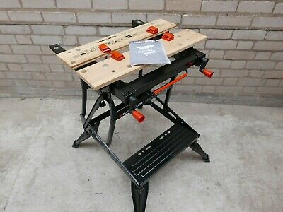 Black & Decker Wm550 Dual Height Vertical Clamping Workmate 610Mm Jaws