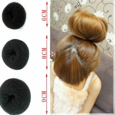 Beauty Fashion Styler Women Girl Shaper Donut Hair Ring Bun Former Maker Tool