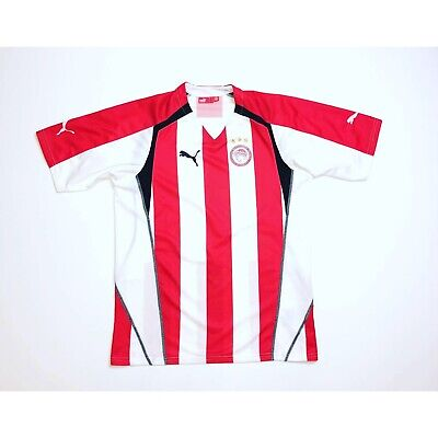 🔥*VGC* Vintage Olympiakos 2005/2006 Home Football Shirt Puma - Size Large🔥