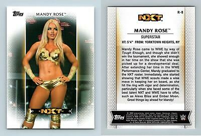 Mandy Rose #R-8 WWE Womens Division 2017 Topps Trading Card