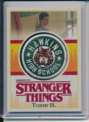 Netflix Stranger Things Season 1 Commemorative Patch P-Th Tommy H. Hawkins High