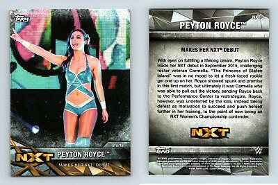 Peyton Royce #NXT-3 WWE Womens Division NXT Matches & Moments 2017 Topps Card