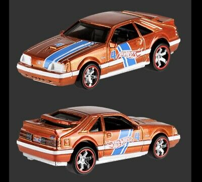 HOT WHEELS 2019 TARGET MAIL IN 84 MUSTANG COMES CARDED & FREE SHIPPING Pre Orde