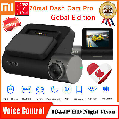70mai Xiaomi Dash Cam Pro 1944P Smart Car DVR Camera 140° Driving Recorder CA