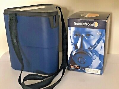 Sundstrom Half Mask Starter Pack SR100 M/L, P3 Filter and Storage Box