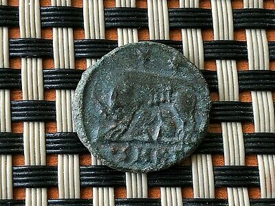 Constantine The Great 308-337 Ad Ae Follis Romulus Remus Wolf Ancient Roman Coin