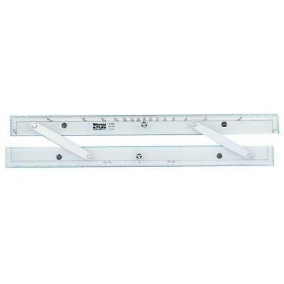 "18"" Aluminum Arms Parallel Rule (Weems & Plath 138)"