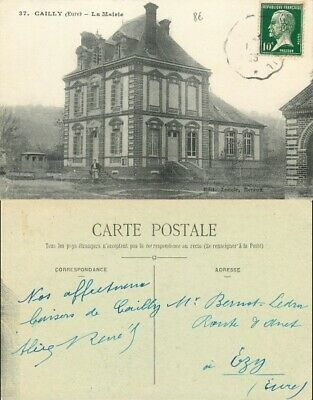 [502228] B/TB|| || - France  - (27) Eure, Cailly, La Mairie, Architectures