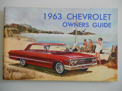 Chevrolet Owners Guide Bedienungsanleitung USA 1963