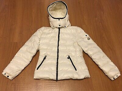 073ab53d3 100% AUTHENTIC MONCLER WOMENS black GLOSSY DOWN JACKET bomber puffer ...