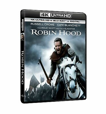 Robin Hood (Blu-Ray 4K Ultra Hd + Blu-Ray) UNIVERSAL PICTURES