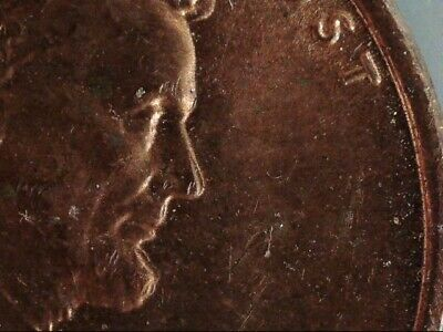{ 1969-S Lincoln Cent Appears To Be A  Double Die Obverse  Uncirculated