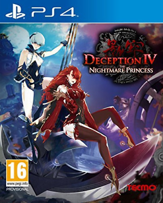 Deception Iv The Nightmare Princess GAME NEW