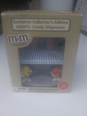 M&M's Replica of Walgreens First Store Chicago Dispenser Collector's Edition