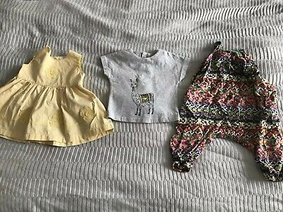 Baby Girls 6-9 Months Summer Spring Bundle From Next And Mamas And Papas
