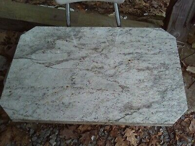 Architectural Salvage Heavy Thick Vintage Marble Slab