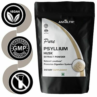 Pure Psyllium Husk Powder Fiber Organic Natural Colon Detoxification