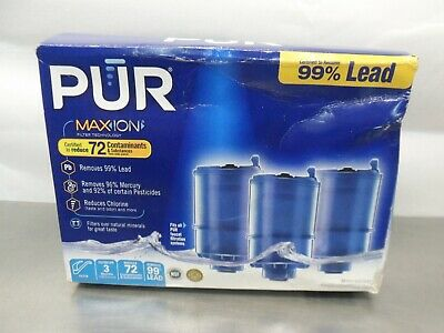 Replacement Cartridges 3 Pack PUR Water Filter Replacement-Procter and Gamble Water Filter Cartridge,