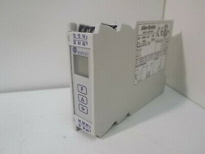 Allen Bradley 809S-E1ZJ Current Monitor Relay