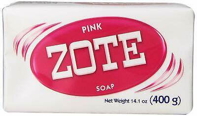 Zote Soap Laundry Stain Remover Pink Bar 14.1oz