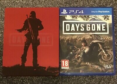 Days Gone PS4 Game - PlayStation 4 - With Limited Edition Steelbook