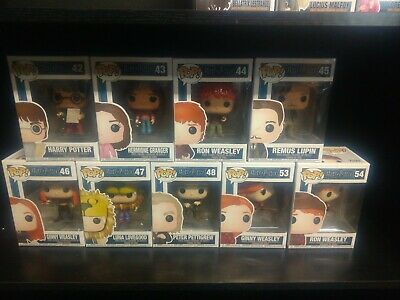 "Funko Pop! Harry Potter - Complete Series 4 - Lot of 7 - ""Brand New"""