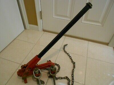 Reed Soil Pipe Assembly Tool Pipe Puller Ridgid 228 Cast Iron Pipe Assembly Tool