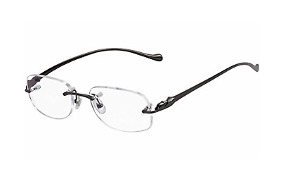 Occhiali Cartier Panthere Altaica T8101082 Pvd Black Eyewear New And Authentic