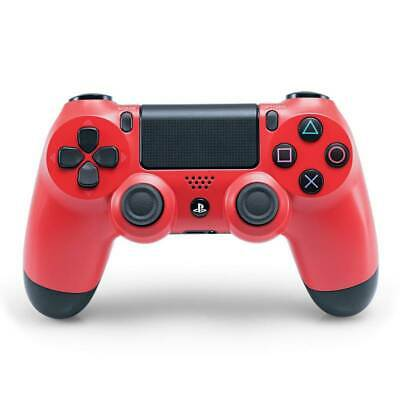 Sony Playstation 4 Genuine Wireless Dualshock 4 Controller - Magma Red
