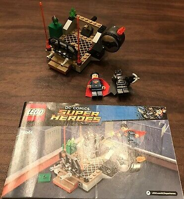 LEGO DC Comics Super Heroes 76044 Clash of the Heroes 100% Complete