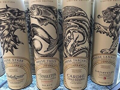 Game of Thrones House Limited Edition *Sold Out* Lannister Tully Stark Targaryen