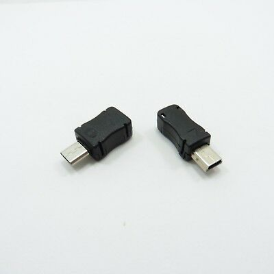 Male USB Type-B Micro / Mini Socket with Cover 5Pin Connector