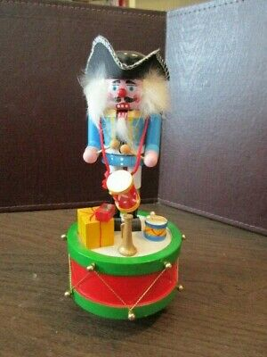 "Vintage Christmas Nutcracker Music Box ENESCO - ""Parade of the Wooden Soldier"""
