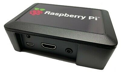 Raspberry Pi 3 Model B Plus (+) and black Cyntech case - just needs SD card/ PSU