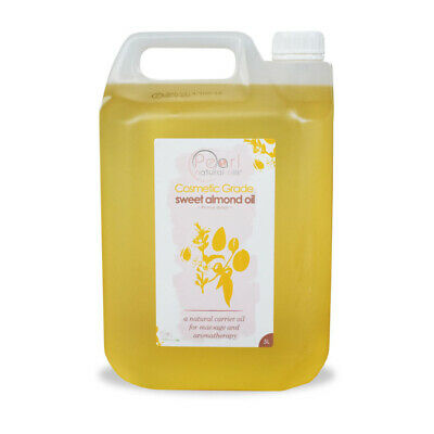 SWEET ALMOND OIL 10 Litres (2 x 5 litres), COSMETIC GRADE