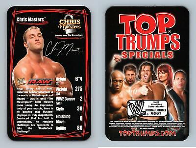Chris Masters - WWE Superstars 2 - 2006 Top Trumps Specials Card