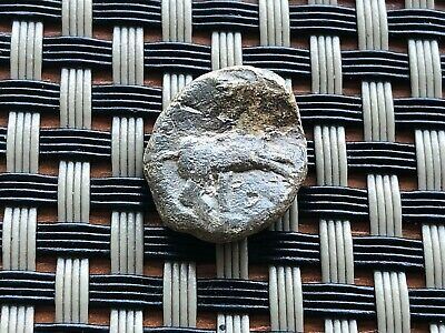 Ancient Byzantine Medieval Lead Seal Very Rare And Scarce