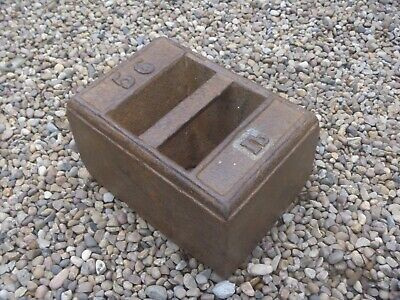 Antique 56Lb Cast Iron Weight..postage £17.50